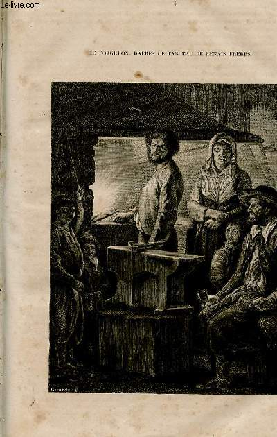 Le magasin universel - tome septième - Livraison n°05 - Un forgeron au Moyen Age.