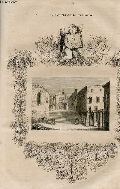 Le magasin universel - tome septième - Livraison n°16 - Suite d'un rouet du 19ème siècle.