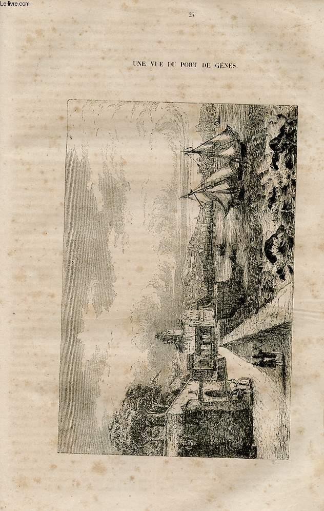 Le magasin universel - tome septième - Livraison n°24 - Suite et fin de Neuchatel, Suisse.