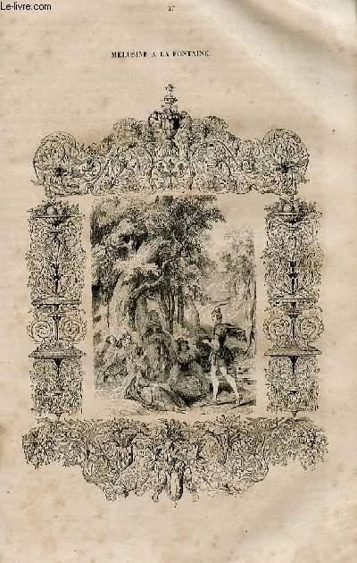 Le magasin universel - tome septième - Livraison n°27 - un roué au 19ème siècle,suite.