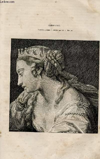 Le magasin universel - tome septième - Livraison n°45 - Cléopâtre.