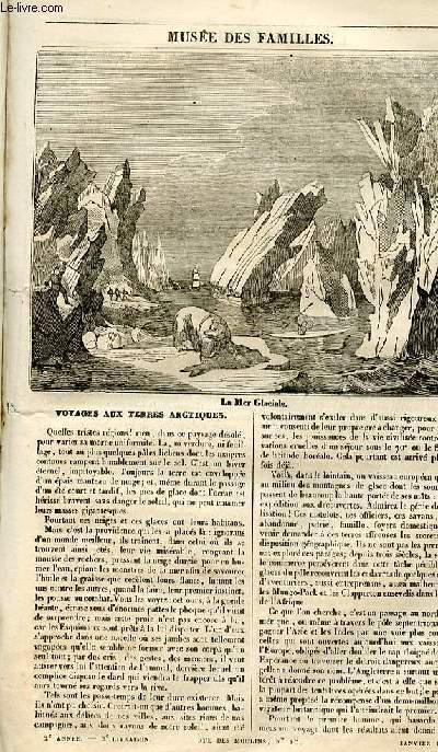 Le musée des familles - lecture du soir - 1ère série - livraison n°02 - Voyage aux terres arctiques.