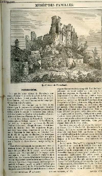 Le musée des familles - lecture du soir - 1ère série - livraison n°03 - Pierrefonds.