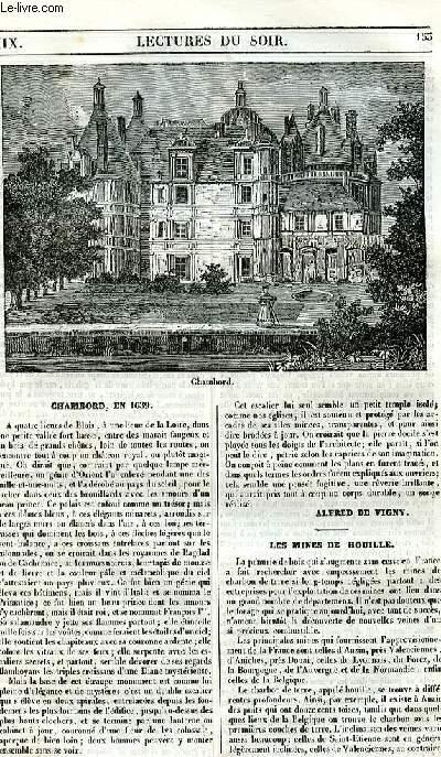 Le musée des familles - lecture du soir - 1ère série - livraison n°19 - Chambord en 1639.