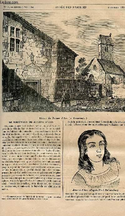 Le musée des familles - lecture du soir - 1ère série - livraison n°02 - Le breuvage de Jeanne d'Arc.