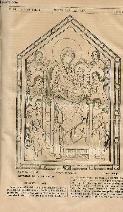 Le musée des familles - lecture du soir - 1ère série - livraison n°03 - Histoire de la peinture - Giovanni Cimabuë.