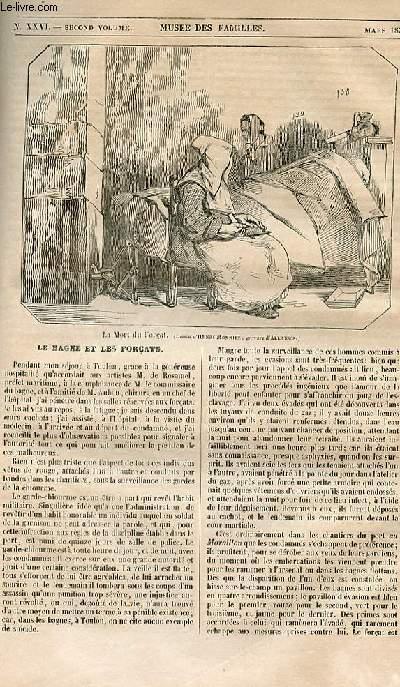 Le musée des familles - lecture du soir - 1ère série - livraison n°26 - Le bagne et les forçats.