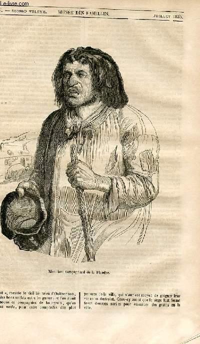Le musée des familles - lecture du soir - 1ère série - livraison n°44 - Etudes de mendiants de la Flandre,suite.