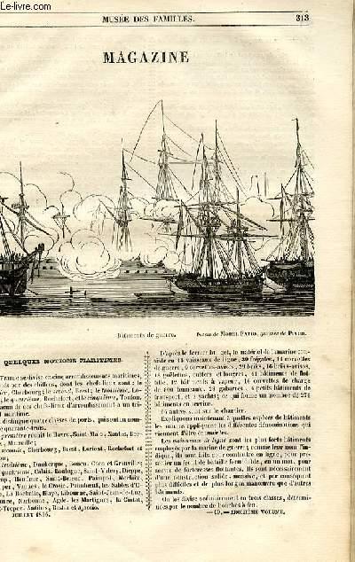 Le musée des familles - lecture du soir - 1ère série - livraison n°40 - Magazine - Quelques notions maritimes.