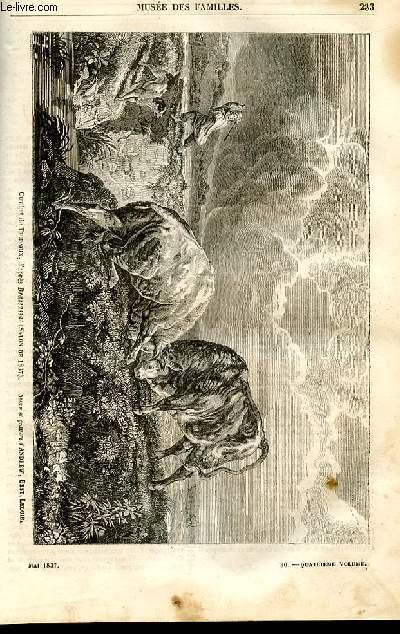 Le musée des familles - lecture du soir - 1ère série - livraison n°30 - Etudes physiologiques - La ventriloquie par Evrard c.