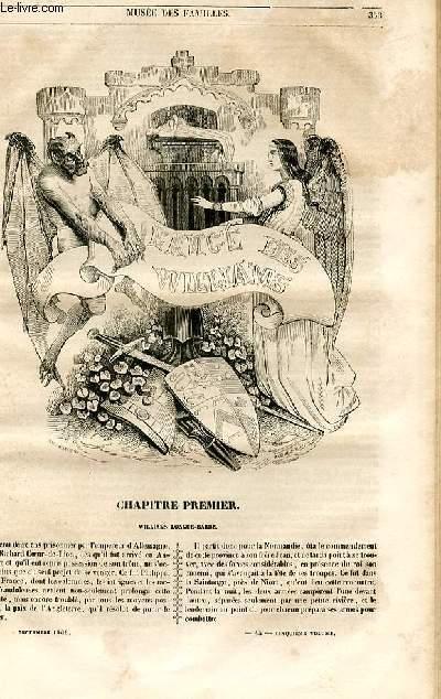 Le musée des familles - lecture du soir - 1ère série - livraisons n°45,46 et 47 - L'ange des Williams par Berthoud.