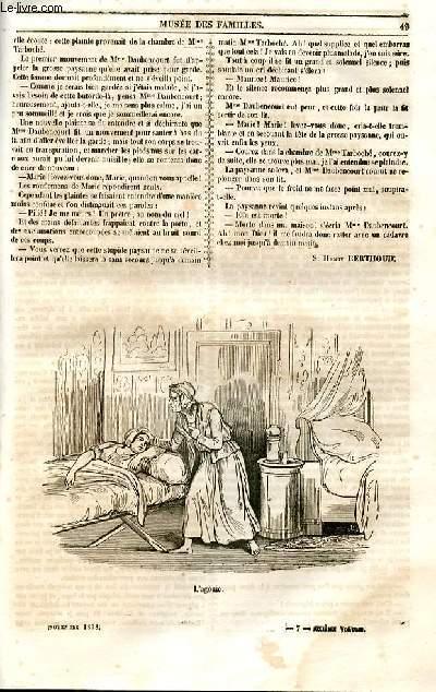 Le musée des familles - lecture du soir - 1ère série - livraisons n°07 et 08 - Deux études morales : Friquet - une martyre,suite et fin.