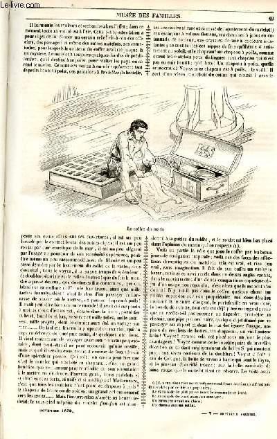 Le musée des familles - lecture du soir - 1ère série - livraisons n°07 et 08 - Etudes maritimes, deuxième partie par Jules Lecomte,suite.