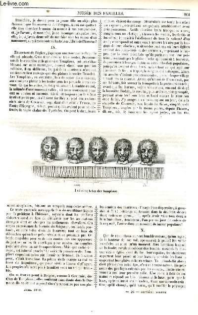 Le musée des familles - lecture du soir - 1ère série - livraisons n°26, 27 et 28- Voyages - la chartreuse de Bonpas,suite etf fin.