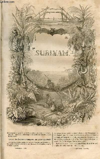 Le musée des familles - lecture du soir - 1ère série - livraison n°06 - Surinam par Benoit.