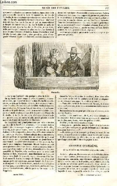 Le musée des familles - lecture du soir - 1ère série - livraison n°23 et 24 -  Etudes morales - Buonamico Buffalmacco,suite.