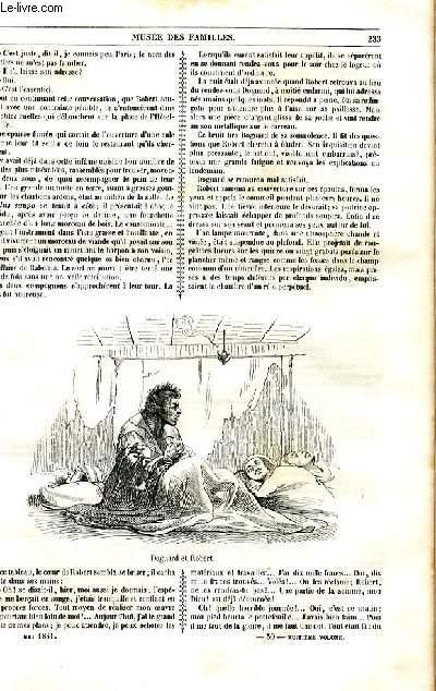 Le musée des familles - lecture du soir - 1ère série - livraison n°30 et 31 - Le secret, suite et fin par Nicolle.