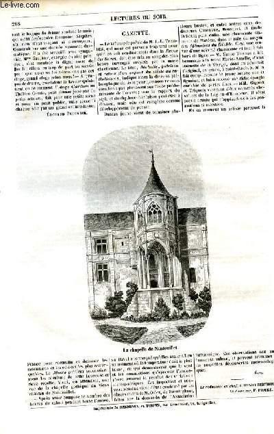 Le musée des familles - lecture du soir - 1ère série - livraison n°37  et 38 -Etudes historiques - Jeanne la folle  par De Pongerville de l'Académie Française.