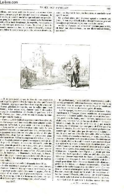 Le musée des familles - lecture du soir - livraison n°31 et 32 - Etienne Le Manchot par Berthoud,suite et fin.