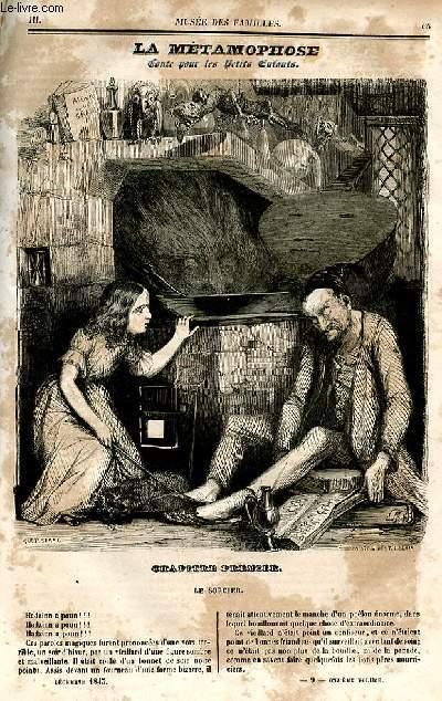 Le musée des familles - lecture du soir - deuxième série - livraison n°09 et 10 - La métamorphose , conte pour les petits enfants par Mme Emile de Girardin.
