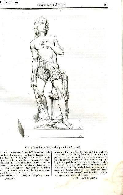 Le musée des familles - lecture du soir - deuxième série - livraison n°28 - Enseignement du dessin par  par SIgné Guizot .