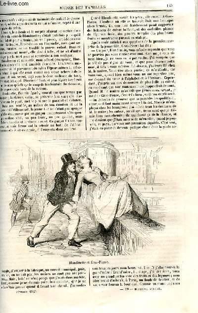 Le musée des familles - lecture du soir - deuxième série - livraisons n°19 et 20 - Suite et fin de Blondinette, conte  par Henri Nicolle.