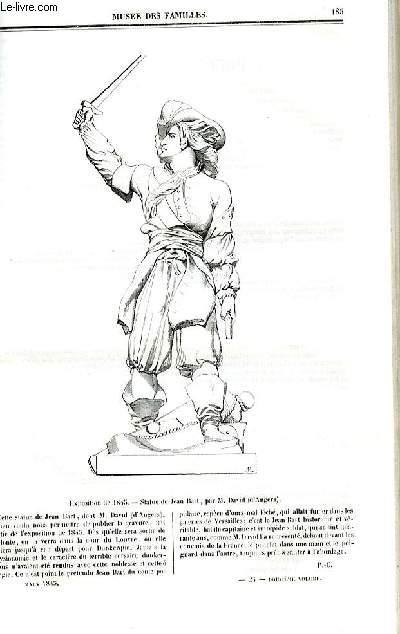 Le musée des familles - lecture du soir - deuxième série - livraison n°24 - Les prédicateurs de Paris - Le père Lacordaire par  De Chatouville.