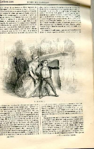 Le musée des familles - lecture du soir - deuxième série - livraison n°35 et 36- La malédiction suite et fin par Mme Marie de l'Epinay.
