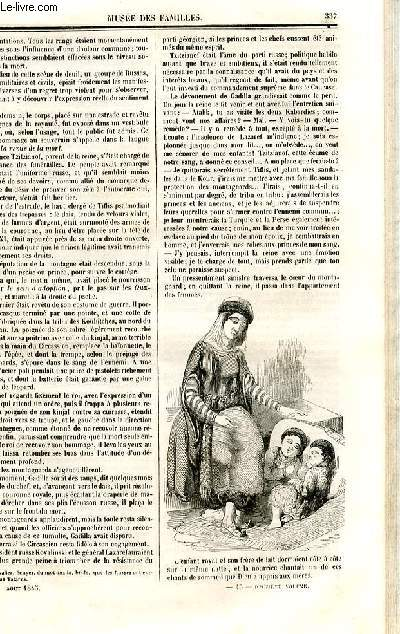 Le musée des familles - lecture du soir - deuxième série - livraison n°43 et 44 - Scènes du caucase, suite et fin.