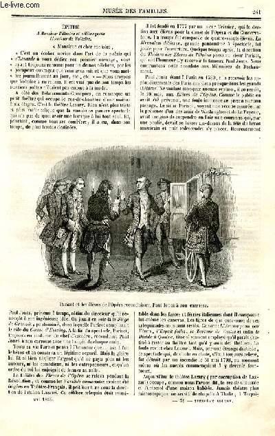 Le musée des familles - lecture du soir - deuxième série - livraison n°31 et 32 - Suite et fin des pettis théâtres de Paris par Théodore de Banville.