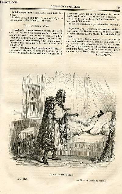 Le musée des familles - lecture du soir - deuxième série - livraison n°24 - Suite et fin de SIdiah Marie ou la France Afrique par Lady jane.