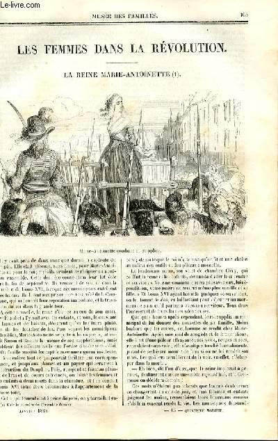 Le musée des familles - lecture du soir - deuxième série - livraison n°14 - Les femmes dans la révolution - la reine Marie Antoinette (suite).