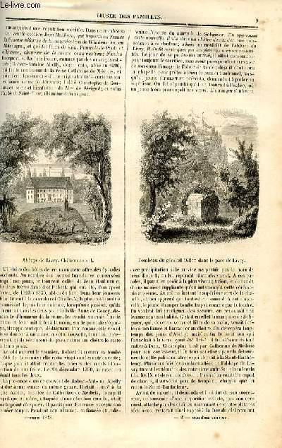 Le musée des familles - lecture du soir - deuxième série - livraison n°02 et 03 - L'abbaye de livry,suite et fin.