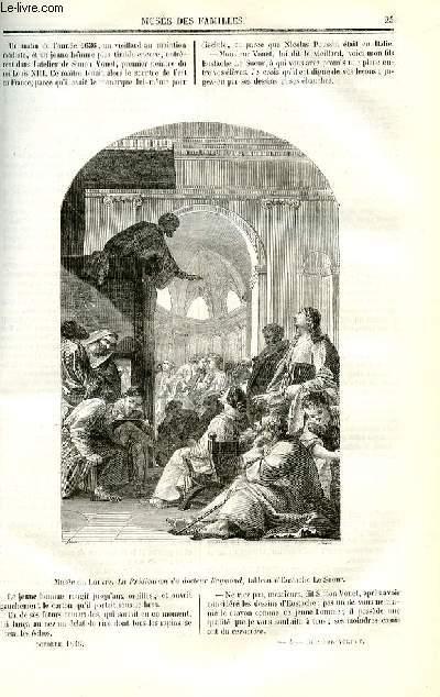 Le musée des familles - lecture du soir - deuxième série - livraison n°04 - Les peintres célèbres, suite et fin.