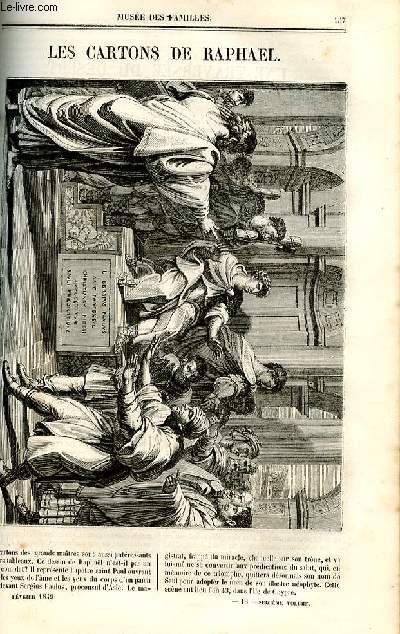 Le musée des familles - lecture du soir - deuxième série - livraison n°18 et 19 - Les cartons de Raphaël.