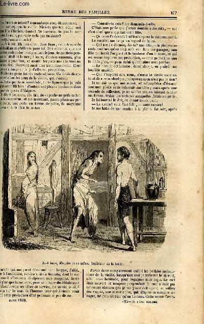 Le musée des familles - lecture du soir - deuxième série - livraisons n°23 et 24 - Suite de José Juan le pêcheur  de perles, scène de la vie torride par Borghers, suite et fin.
