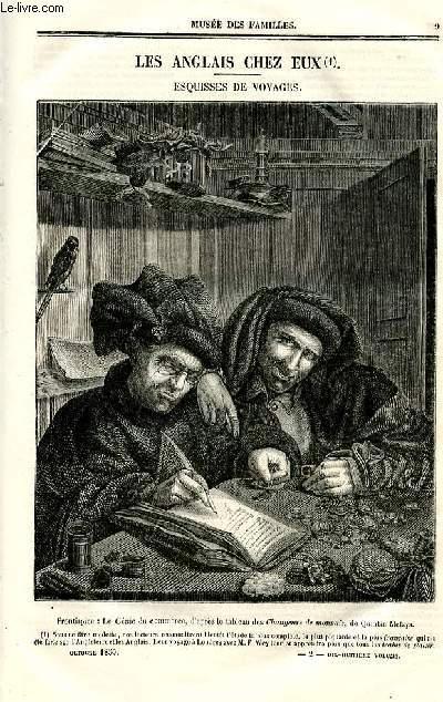 Le musée des familles - lecture du soir - deuxième série - livraison n°02 - Les Anglais chez eux - esquisses de voyages  par francis Wey,à suivre.
