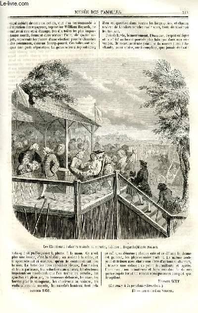 Le musée des familles - lecture du soir - deuxième série - livraisons n°15 et 16 - Les Anglais chez eux,suite -  Esquisses de voyage ,suite.