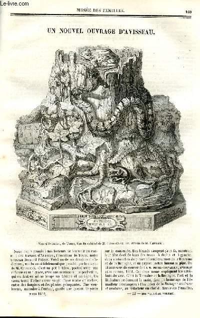 Le musée des familles - lecture du soir - deuxième série - livraison n°22 - Un nouvel ouvrage d'Avisseau (petit article de quelques lignes).