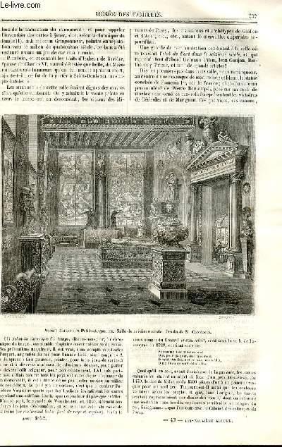Le musée des familles - lecture du soir - deuxième série - livraisons n°43 et 44 - L'ancien musée des Petits Augustins par Emile de Keratry,suite et fin.