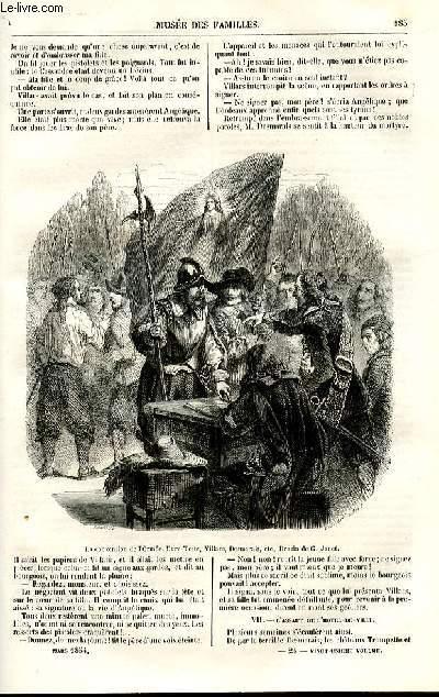 Le musée des familles - lecture du soir - deuxième série - livraison n°24 - Histoire de France - Les révolutions d'autrefois: le drapeau rouge (1652), suite et fin par Pitre Chevalier.