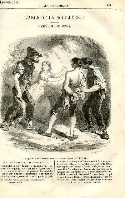 Le musée des familles - lecture du soir - deuxième série - livraisons n°15 et 16 - L'ange de la Houillère - mystère des mines,suite et fin par Sumilli.