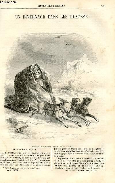Le musée des familles - lecture du soir - deuxième série - livraisons n°27 et 28 - Un hivernage dans les glaces par Jules verne, suite et fin.