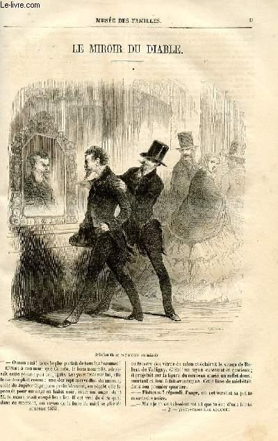 Le musée des familles - lecture du soir -  livraison n°02 - Le miroir du diable par Anaïs Ségalas.