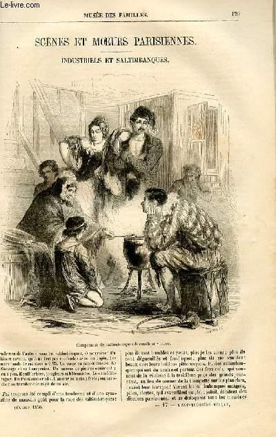 Le musée des familles - lecture du soir -  livraison n°17 - Scènes et moeurs parisiennes - Industriels et saltimbanques par Victor Fournet,à suivre.