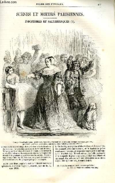 Le musée des familles - lecture du soir -  livraison n°23 - Scènes et moeurs parisiennes - Industriels et saltimbanques,suite et fin.