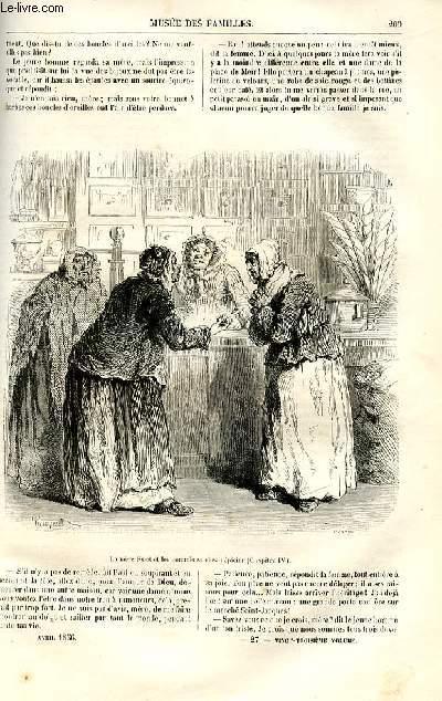 Le musée des familles - lecture du soir -  livraison n°27 et 28 - Le bonheur d'être riche, nouvelle flamande par Henri Conscience,suite.