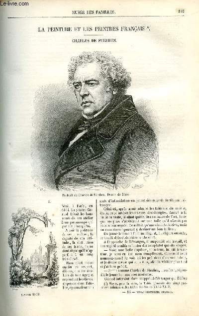 Le musée des familles - lecture du soir -  livraison n°14 - La peinture et les peintres français - Charles De Steuben par Lady Jane.