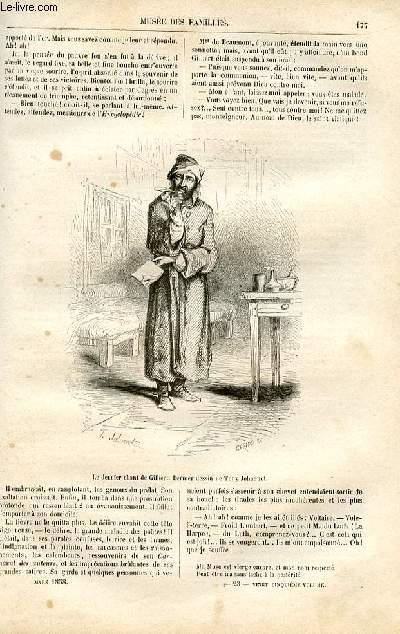 Le musée des familles - lecture du soir -  livraison n°23 - Le poète Gilbert,suite âr Victor Fournel.