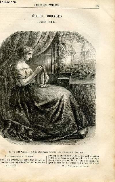 Le musée des familles - lecture du soir -  livraison n°39 - Etudes morales - l'abbé Didier par Mlle Marie Gallet de Kulture.
